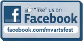 We're on Facebook! Follow us at MVArtsFest today!